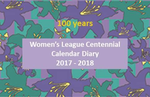 Women's League CalendarDiaries