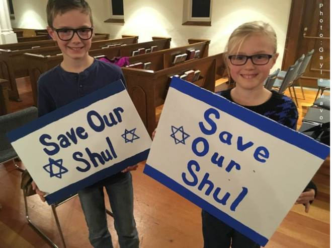 Save our shul GM