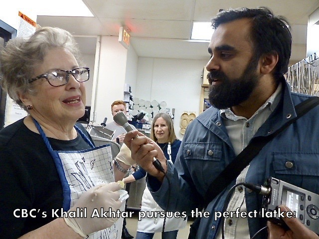 CBC's Khalil Akhtar pursues the perfect latke!