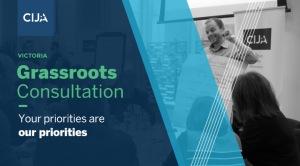CIJA Grassroots Consultation - Picture
