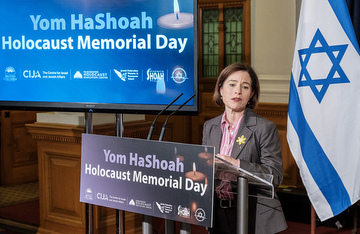 Yom HaShoah Robinson