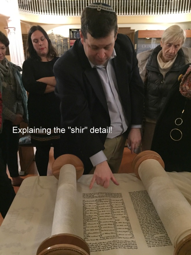 "Explaining the ""shir"" detail!"