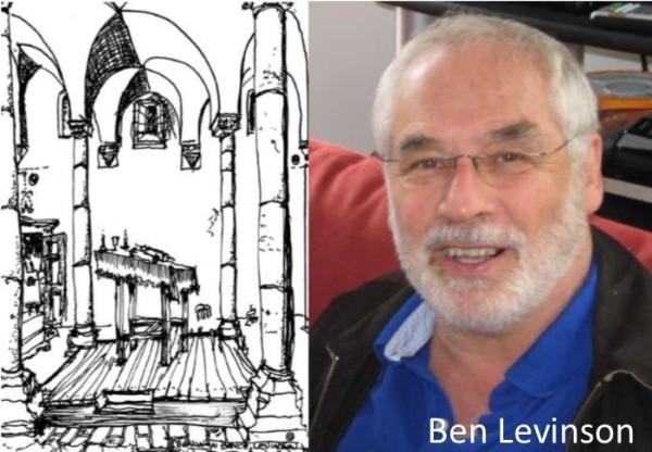 Synagogue Sketch Ben Levinson 700 1.2