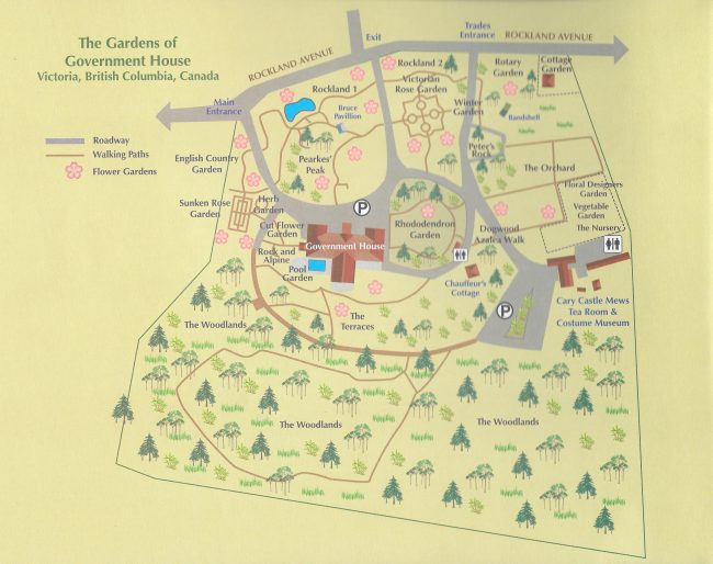 Government House GardenMap-650x514