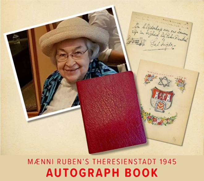 Theresienstadt Autograph Book